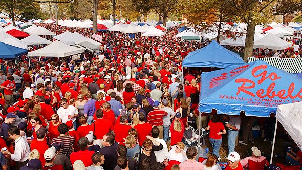 Gallery For gt Ole Miss The Grove Tailgate