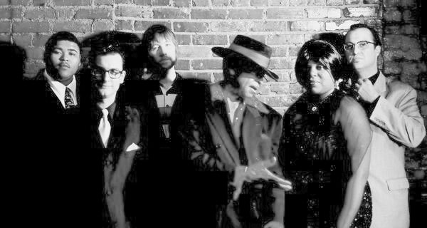 J.D. Mark (far right) with Wiley & The Checkmates.