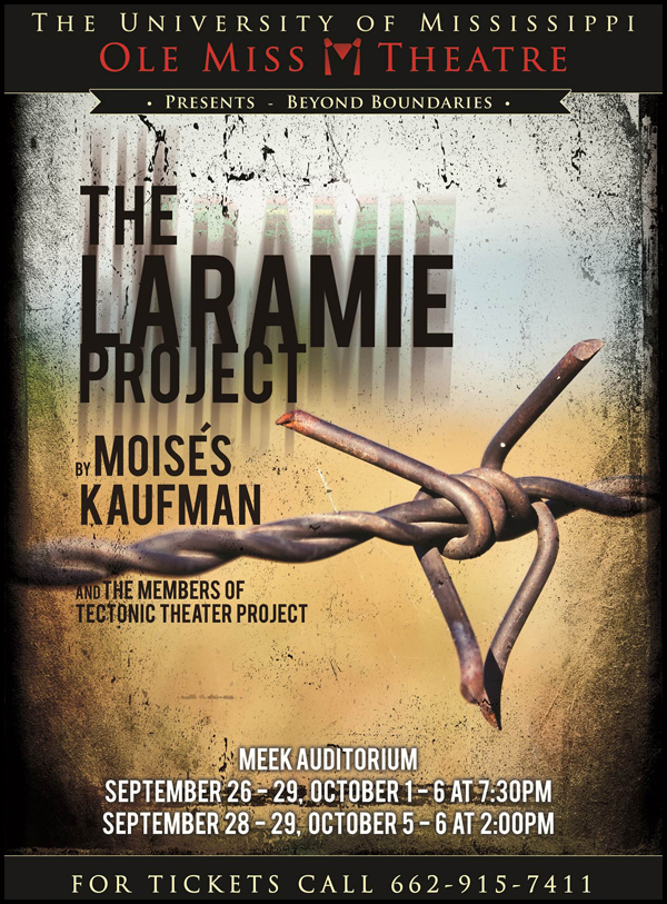 laramie project analysis essay On saturday, october 5th, i attended the play, the laramie project at first, i was not really excited to see this play it was a saturday night and i hate going to.