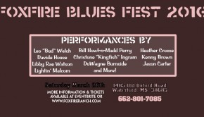 foxfire ranch blues festival