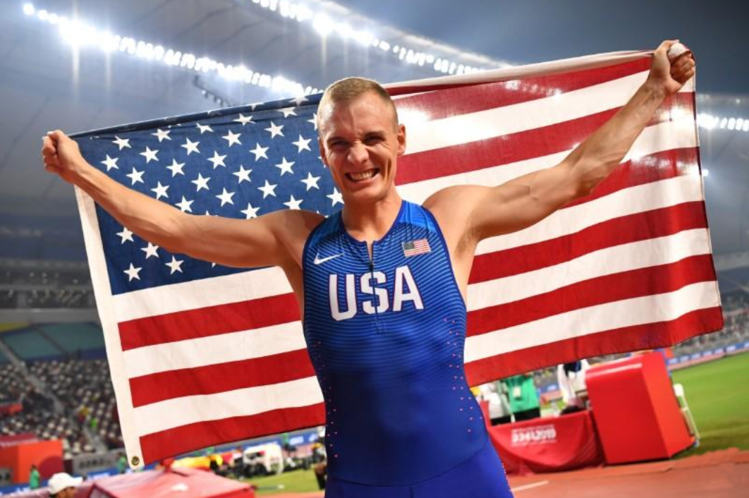 Sam Kendricks Becomes Second to Ever Repeat as World Pole Vault Champion